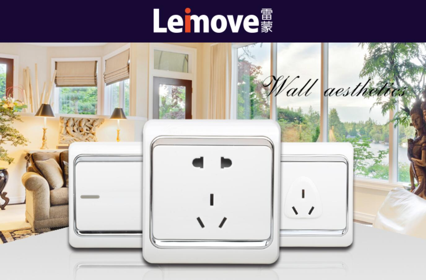 Leimove custom white electric sockets at discount for phone