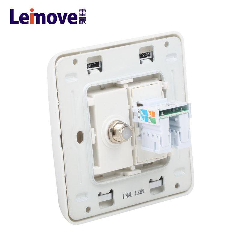 Leimove-Low Current | Computer And Tv Jack Lmvla - Leimove Lighting