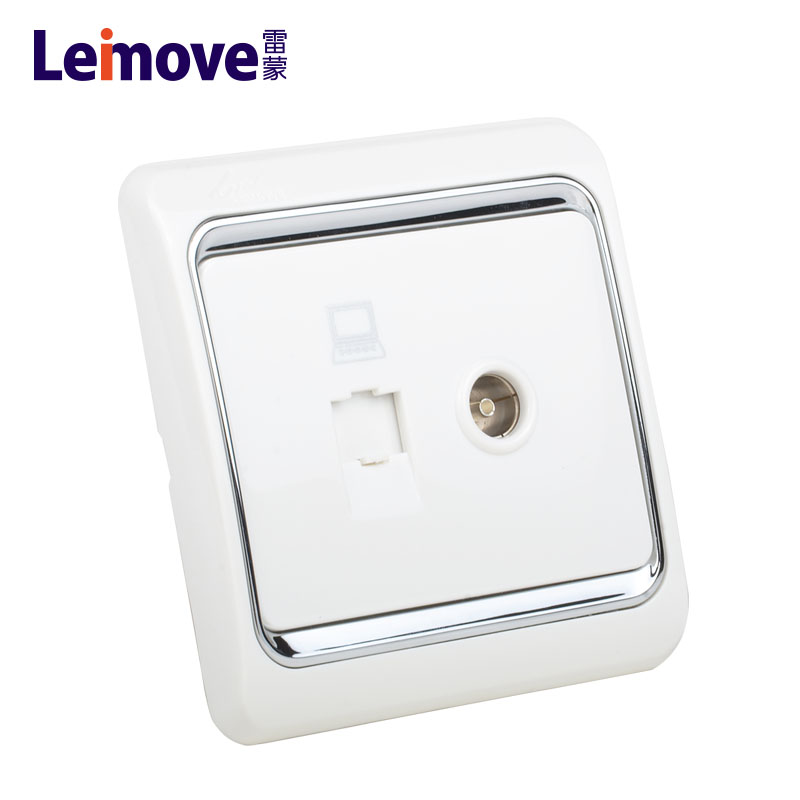 Leimove-Low Current | Computer And Tv Jack Lmvla - Leimove Lighting-1