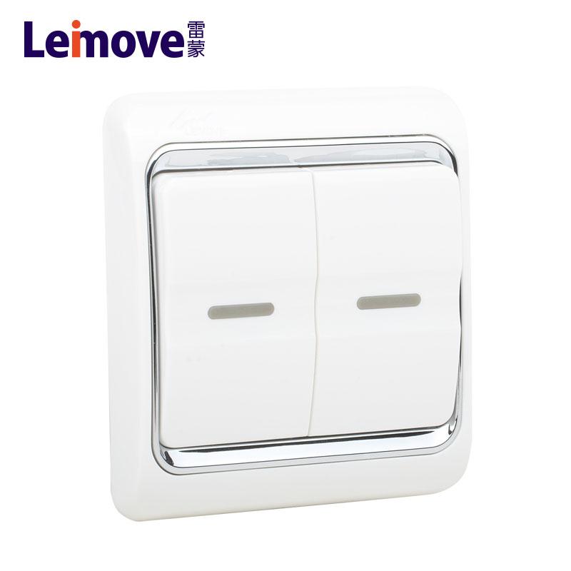 Leimove-modular light switches   A White Series   Leimove-1