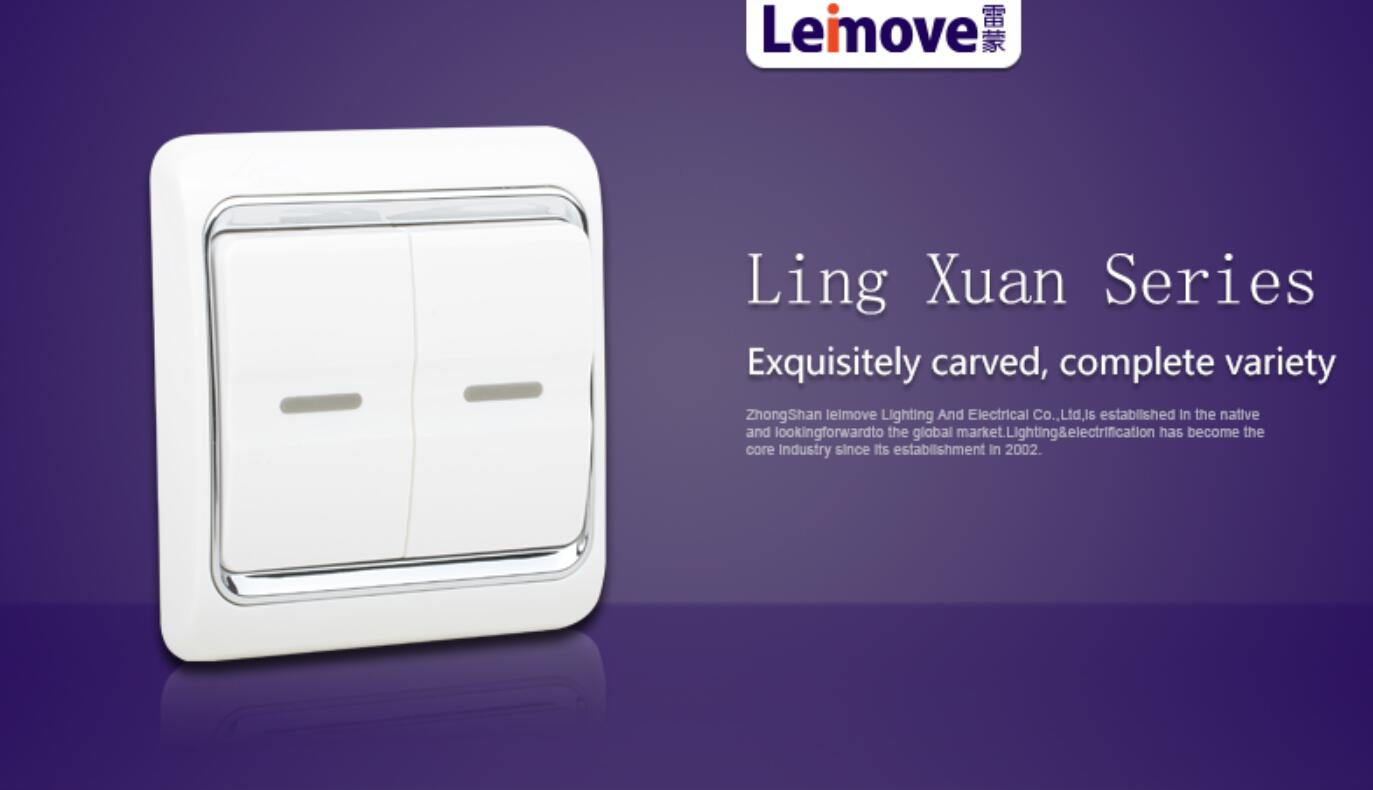 Leimove universal touch light switch good appearance for customization-4