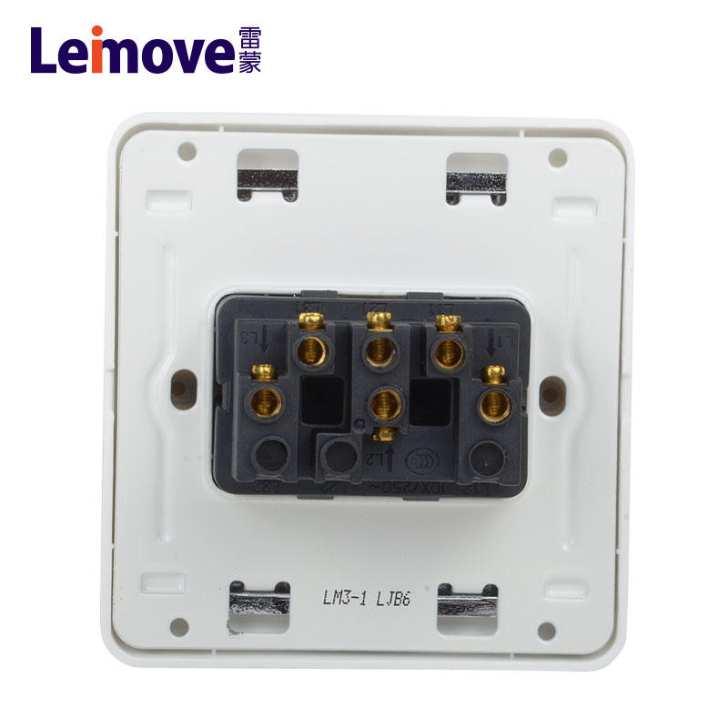 Three position single connection switch LM3-1(A)