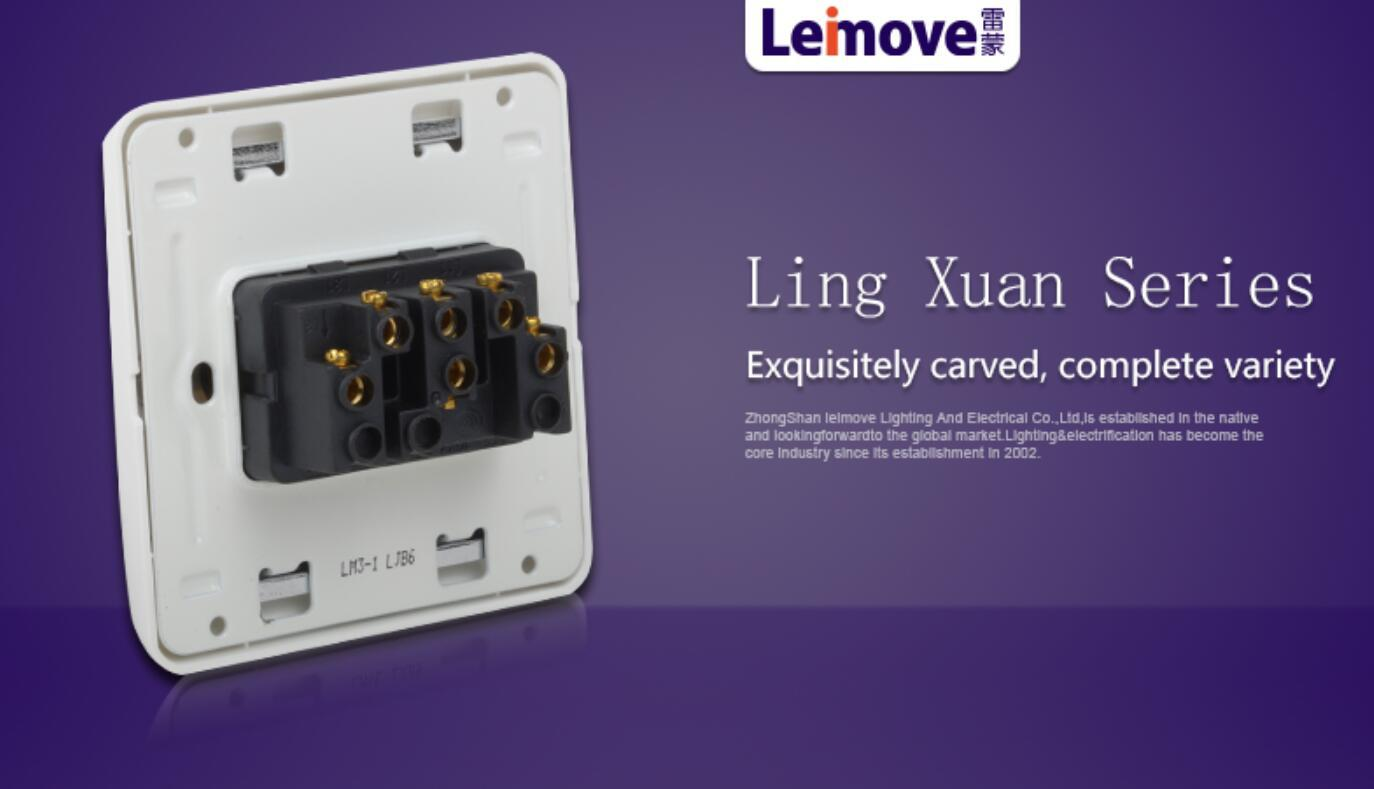 switches and sockets three position good appearance for wholesale