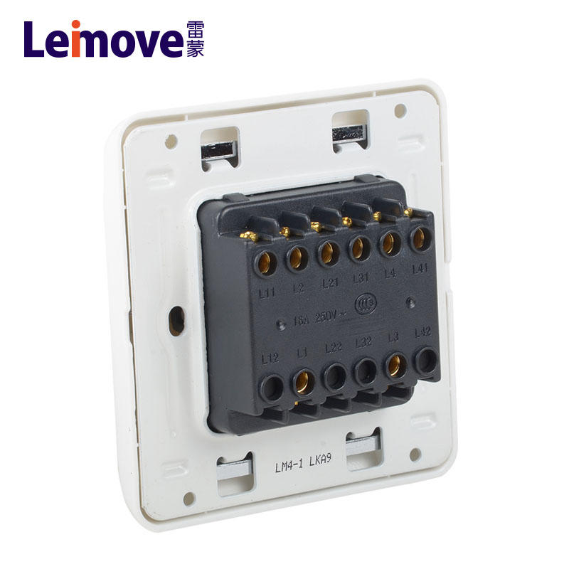 Four-position stilt-plate single connection switch LM4-1(A)