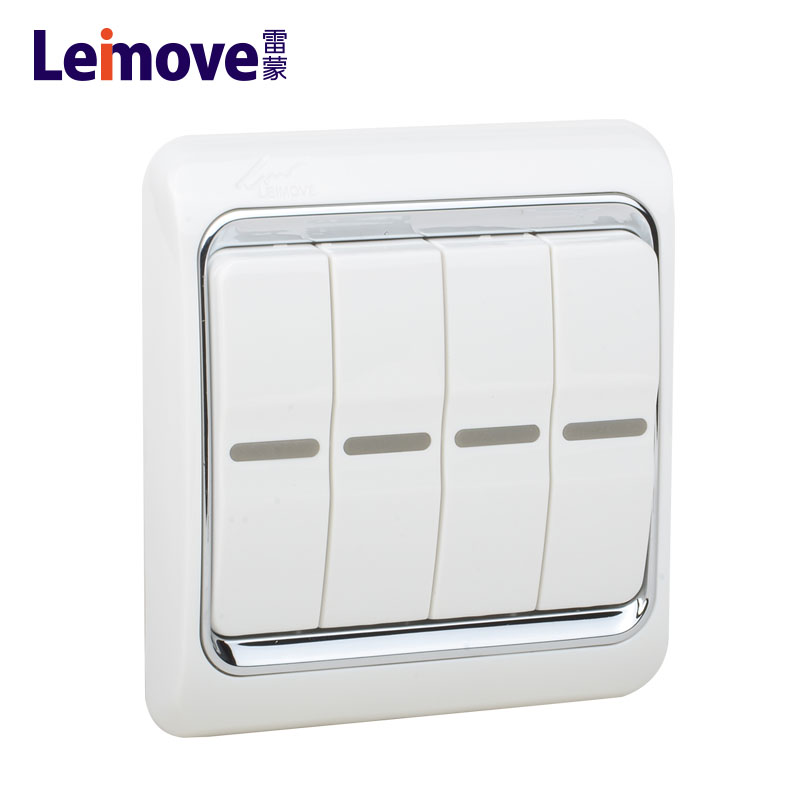 Leimove-electrical switches for home | A White Series | Leimove-1
