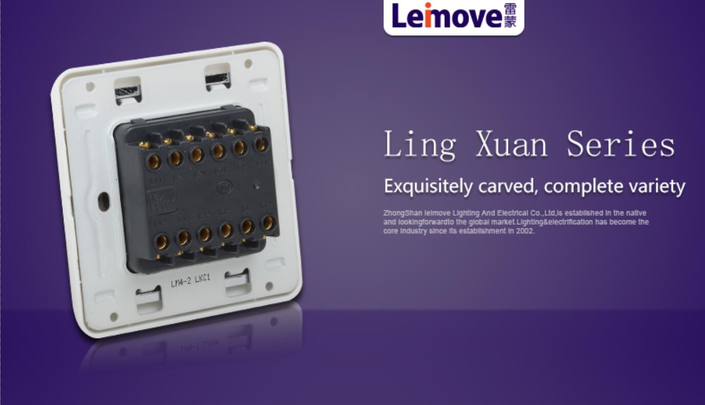 Leimove switches and sockets popular for customization-5