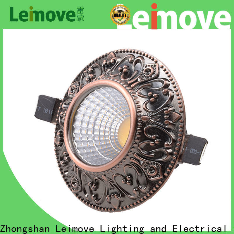 Leimove cob bathroom led downlights surface mounted for wholesale
