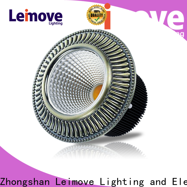 Leimove anti-dazzling adjustable led downlights custom made for sale