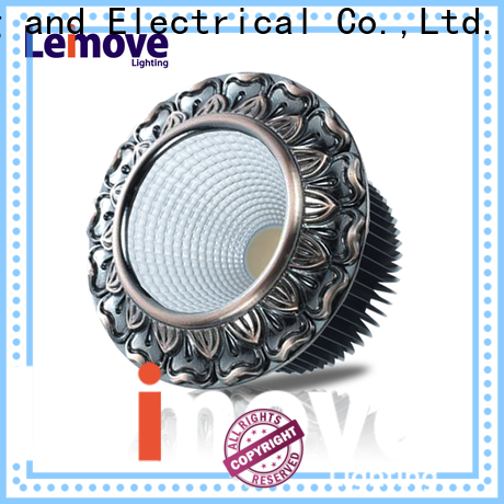 Leimove ceiling decoration dimmable led downlights white milky for customization