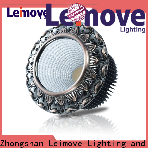 Leimove ceiling decoration dimmable led downlights custom made for wholesale