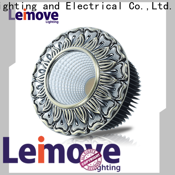 Leimove years warranty adjustable led downlights custom made for customization