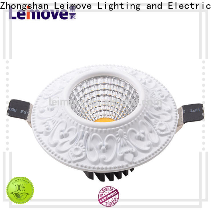 years warranty bathroom led downlights round white milky for wholesale