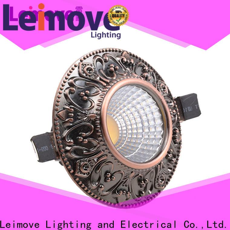 Leimove energy-saving outdoor led downlights white milky for customization
