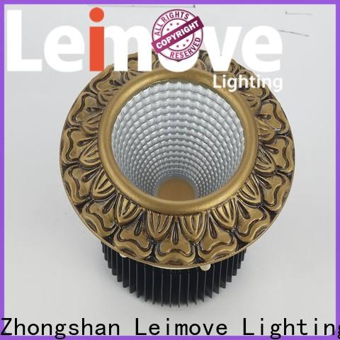 Leimove commercial illumination led recessed downlights surface mounted for wholesale