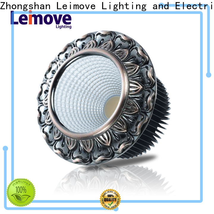 Leimove gold dimmable led spotlights ultra bright for wholesale