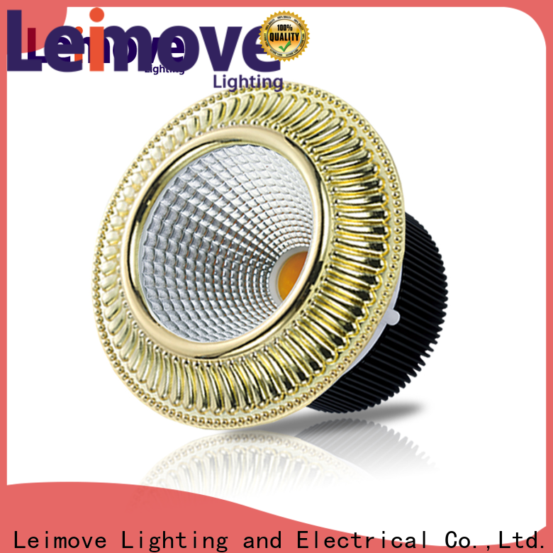 Leimove round shape colored led spotlights ultra bright for decoration