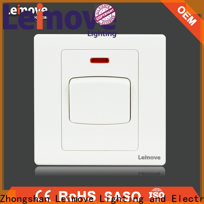 Leimove shock resistance electric switch easy assembly lighting accessories