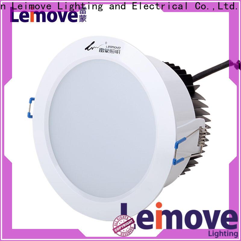 Leimove commercial illumination led down light custom made for customization