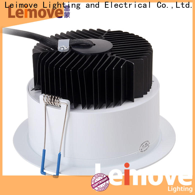 Leimove commercial illumination slim led downlights surface mounted for wholesale