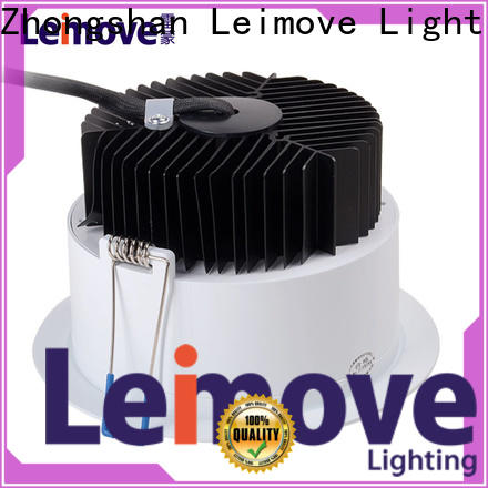 Leimove ceiling decoration outdoor led downlights white milky for customization