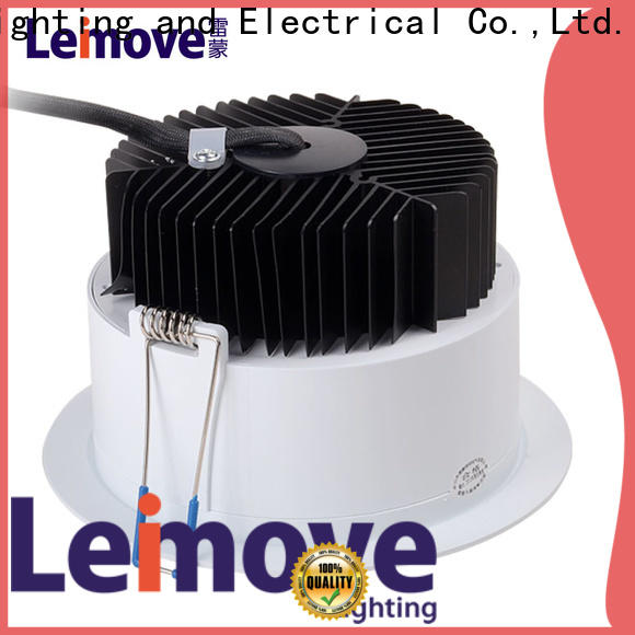 Leimove cob led recessed downlights custom made for wholesale