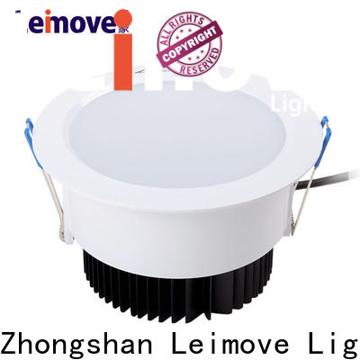 Leimove round bathroom led downlights surface mounted for customization