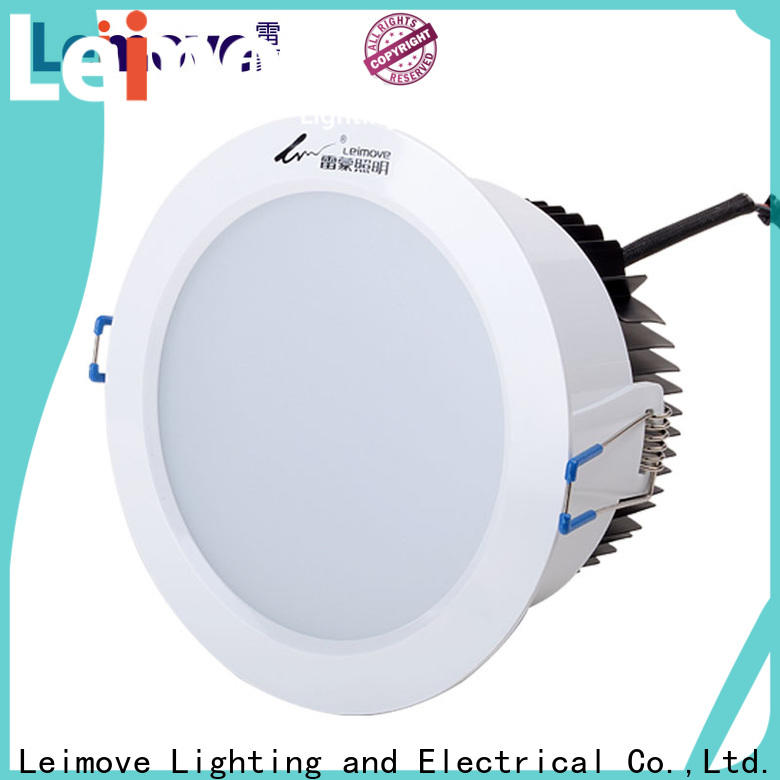 recessed bathroom led downlights round custom made for sale