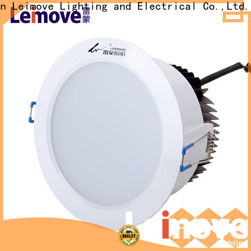 recessed led recessed downlights anti-dazzling white milky for customization