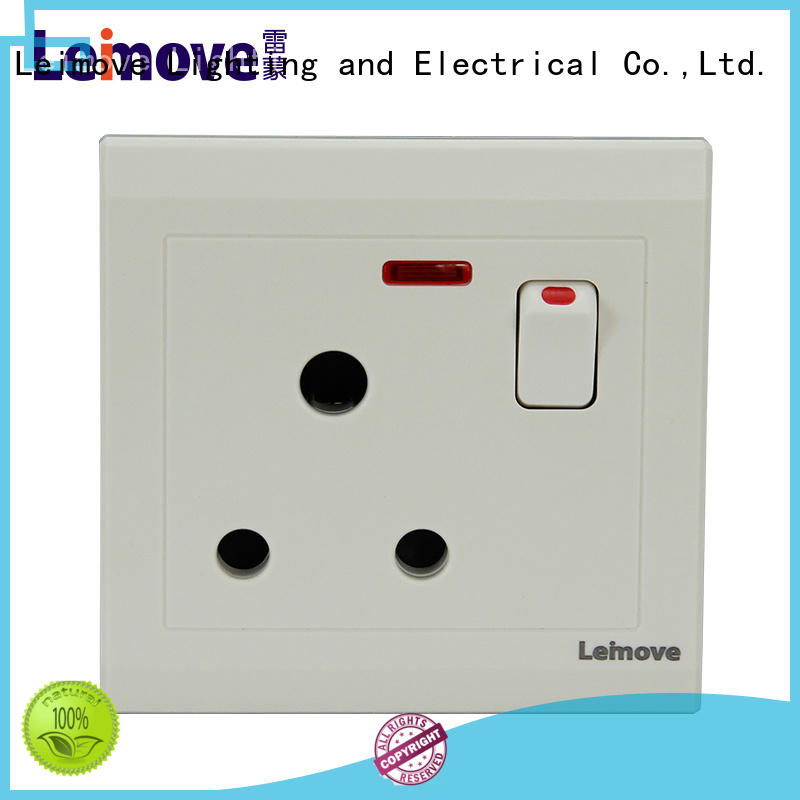 Leimove top brand electrical outlet socket free delivery for sale