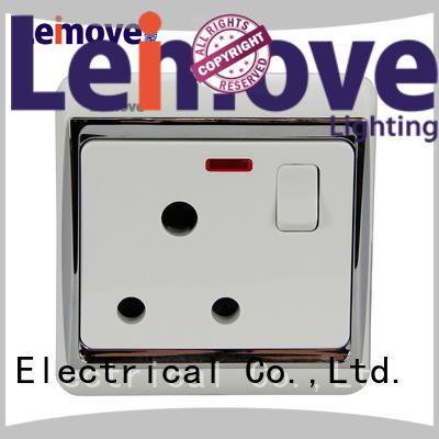 Leimove universal external socket custom free sample