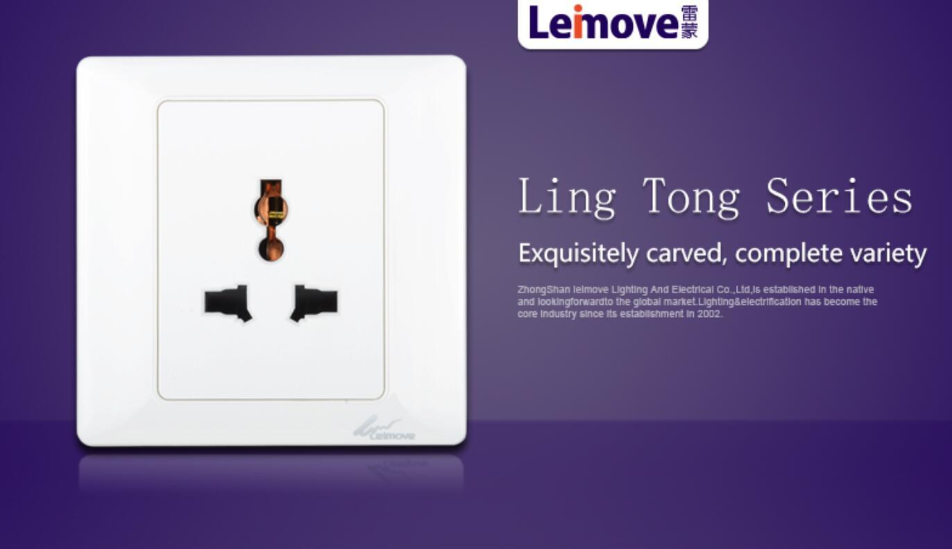 Leimove-High-quality Socket Outlet | Level 3 Multi-function Socket-2
