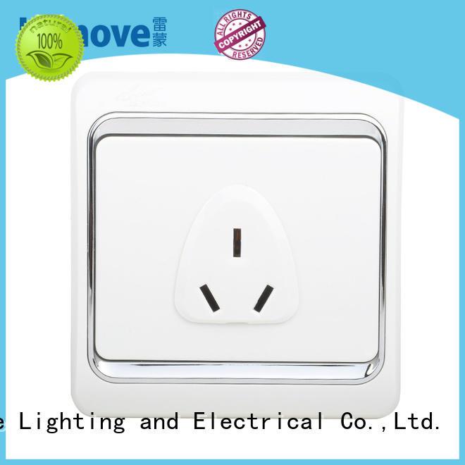 Leimove switch light external socket OEM free sample