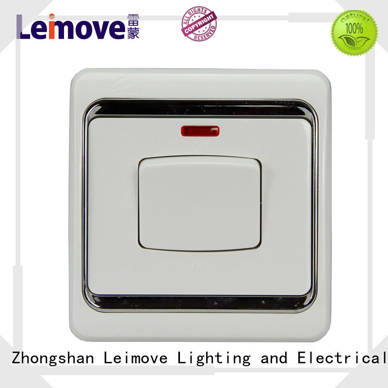 high quality switches and sockets double good appearance for customization