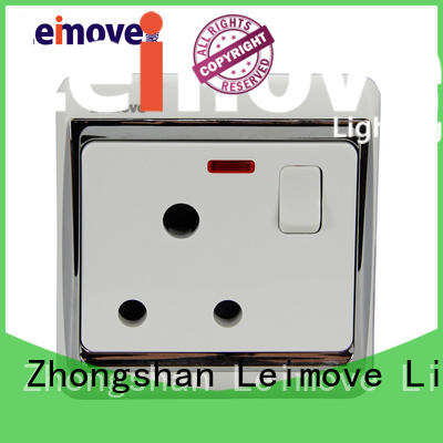 three-hole external socket round plug at discount Leimove