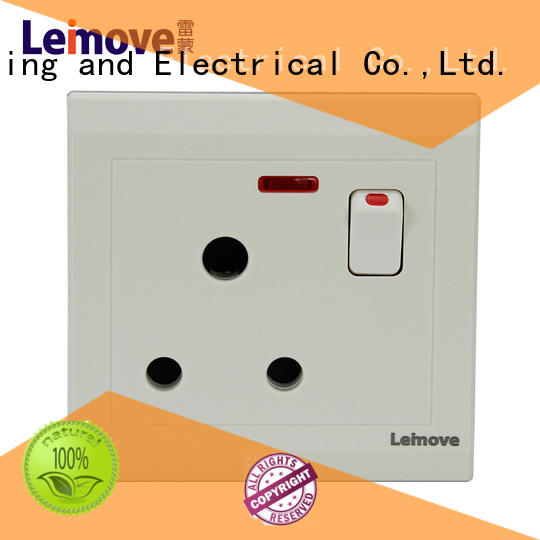 Leimove popular electric wall sockets high quality for sale