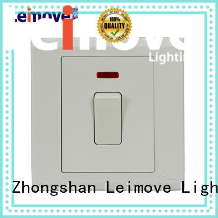 Leimove custom electrical switches online bulk production