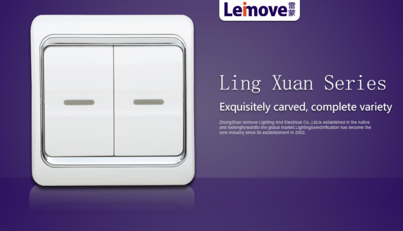 Leimove universal touch light switch good appearance for customization-3