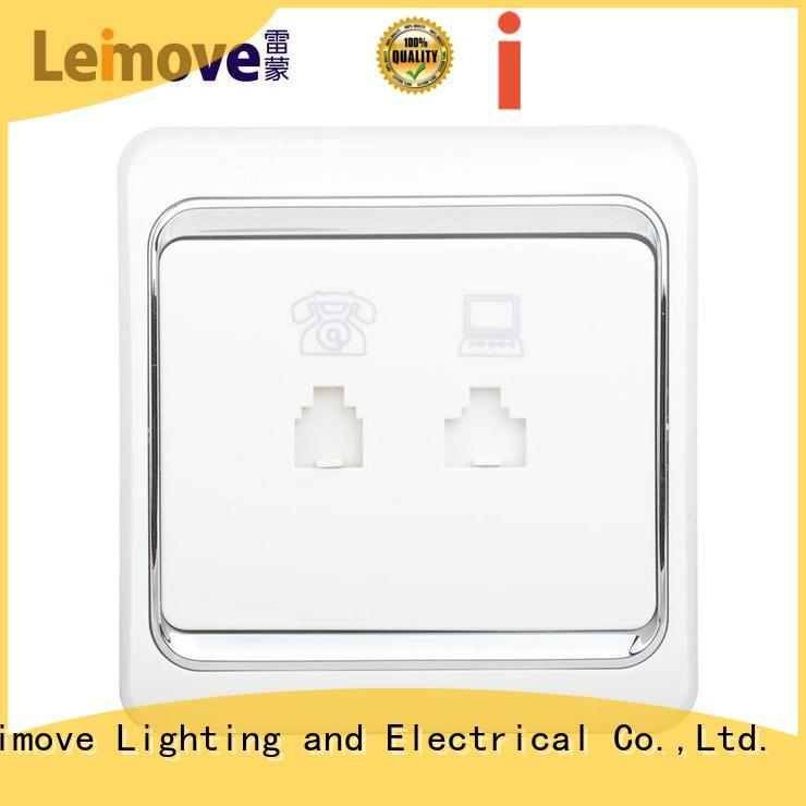 weak current system lmvla telephone socket Leimove Brand