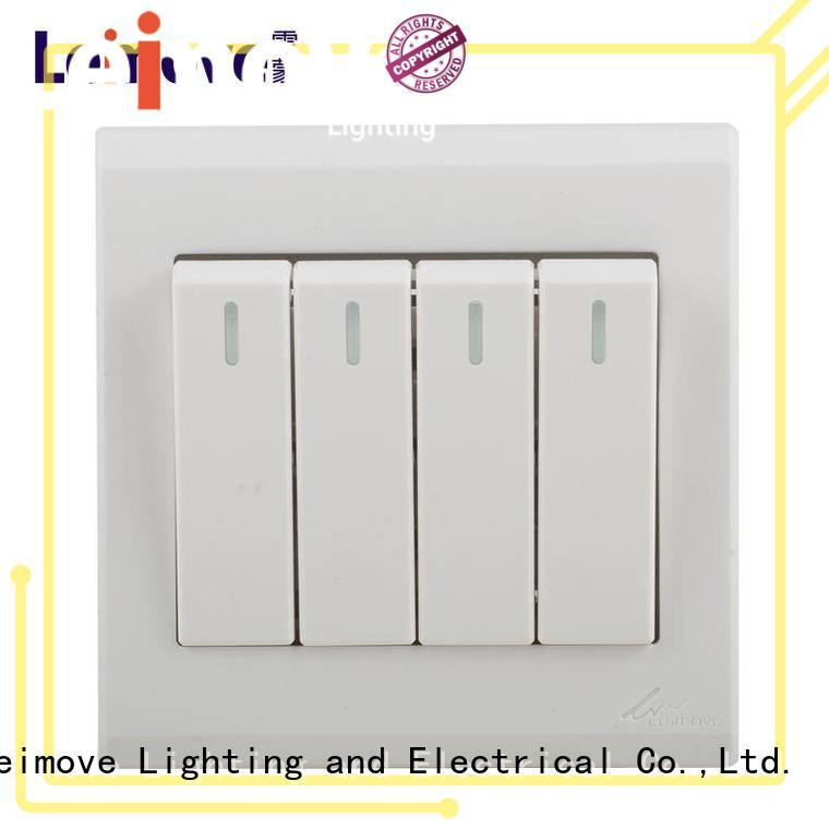 Leimove universal white switches wholesale for charging