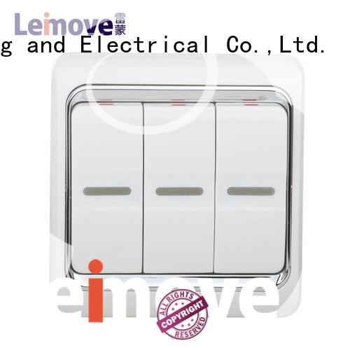 Hot one single light switch electrician Leimove Brand