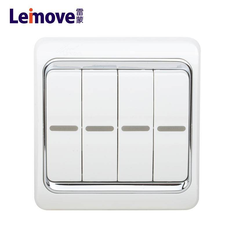 Double switch on four stilts board LM4-2(A)