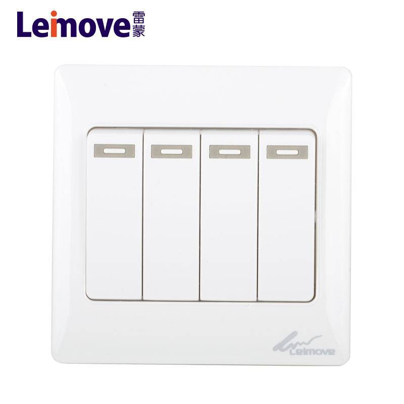 gang one white electrical on off switch switch Leimove