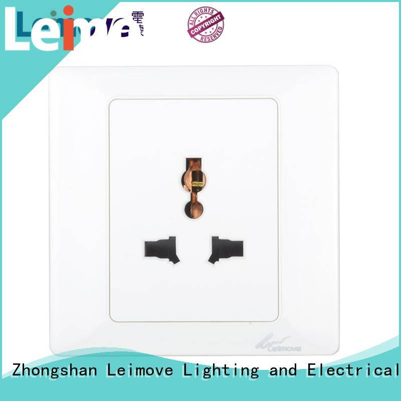 Leimove multi-functional socket outlet high quality for wholesale
