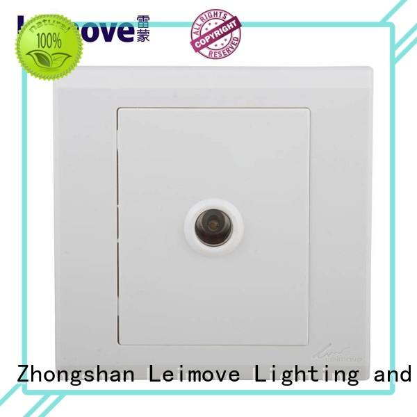 Leimove multi-functional telephone socket steel wire for telephone