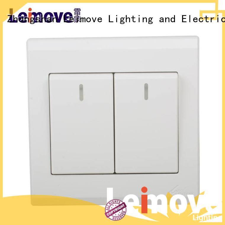 Leimove bipolar light switch by bulk