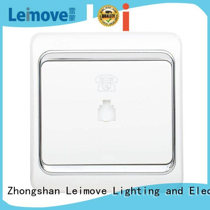 china electric socket Leimove Brand wall power socket