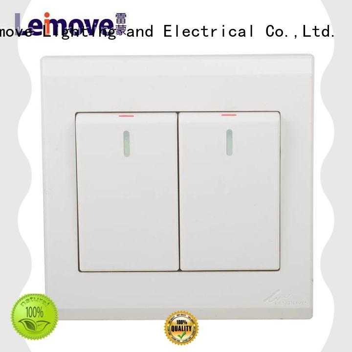 Leimove high quality light switch by bulk for tv