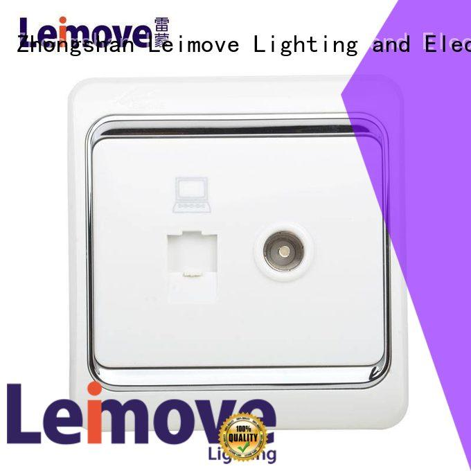 Custom wall power socket Leimove