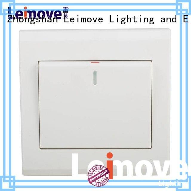 Leimove custom white switches bipolar for tv