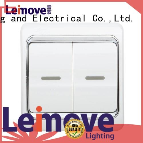 Leimove single connection electronic switch great practicality for wholesale